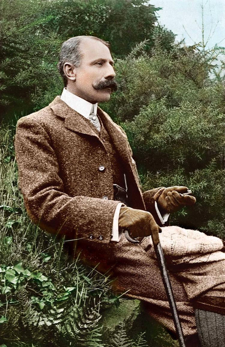 Edward Elgar in 1900.