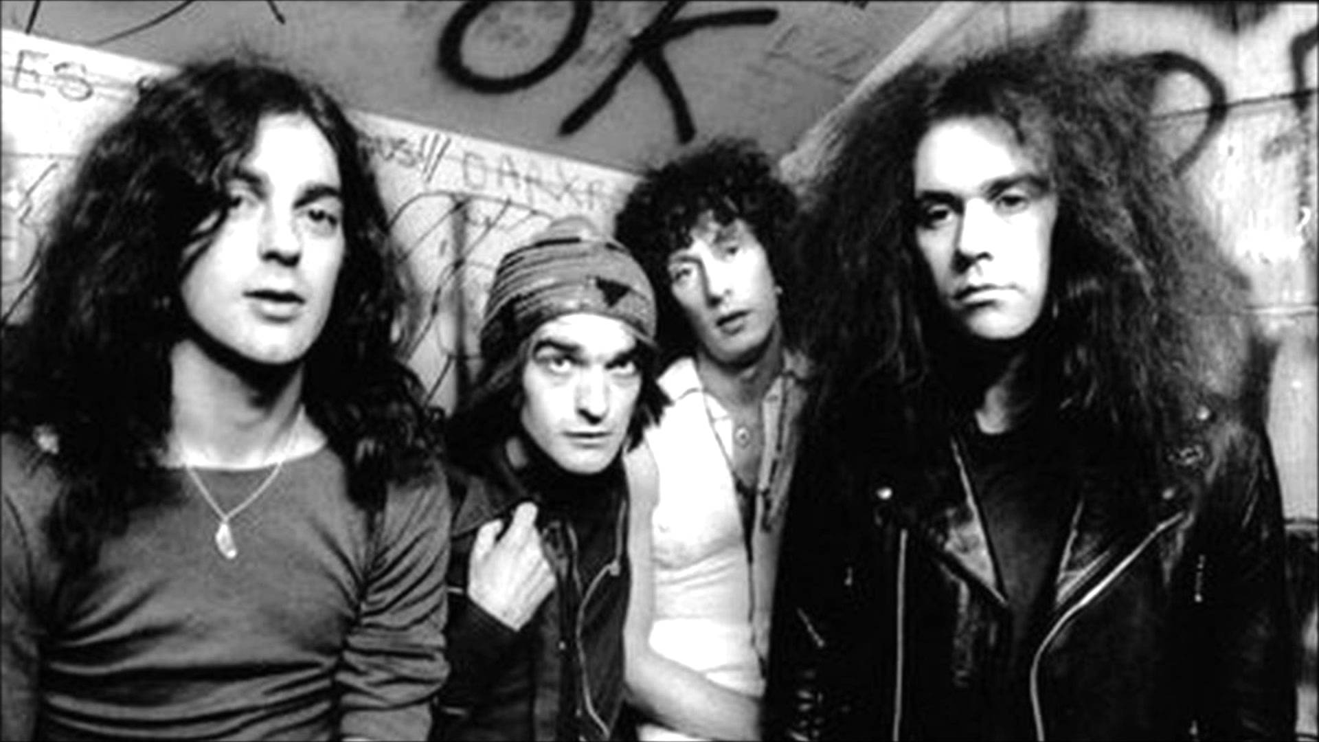 The Pink Fairies in 1975.