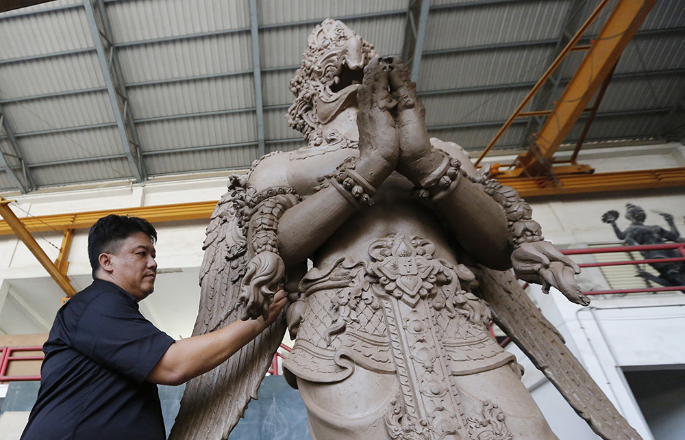 The cremation is planned for late October, 2017. (AP Photo/Sakchai Lalit)