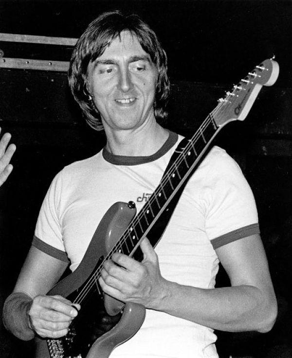 British guitar virtuoso and composer Allan Holdsworth is shown in this undated photo.