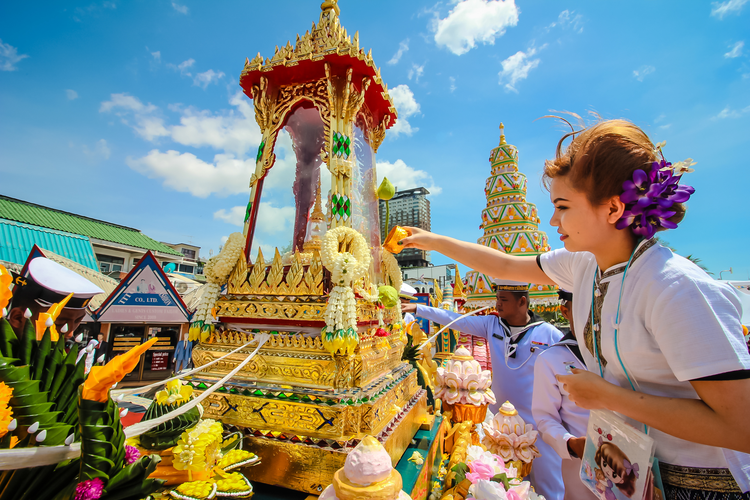 Lively Atmosphere Reported Across Thailand Pattaya Mail - Thailand religion