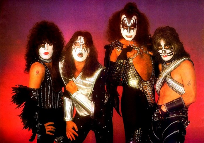 American rock band Kiss.