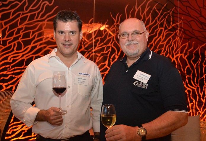 Martin Roessing, BorgWarner Thailand, and Horst Wiezorrek, Pacific Cross Health Insurance PCL.