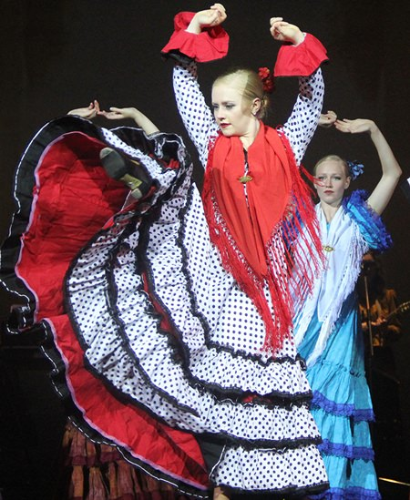 Flamenco from Spain.