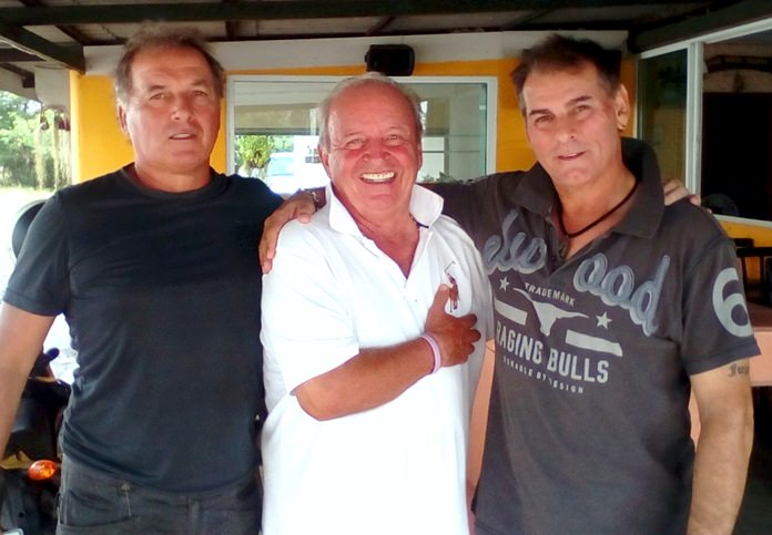 Thiery Petrement, Gerard Lambert and Brad Guest.