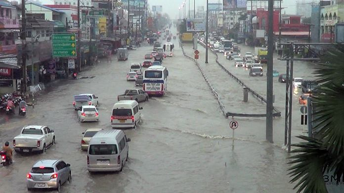 Pattaya will monitor streets and drainage canals around-the-clock to keep on top of flooding during rainy season, Mayor Anan Charoenchasri said.