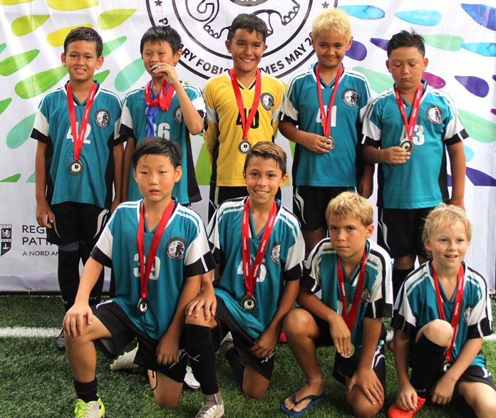 Regents U10 Boys secured silver in the football tournament.