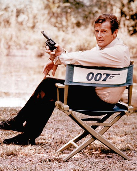 British actor Roger Moore is shown in this 1972 file photo. Moore passed away Tuesday, May 23 after a short battle with cancer (AP Photo)