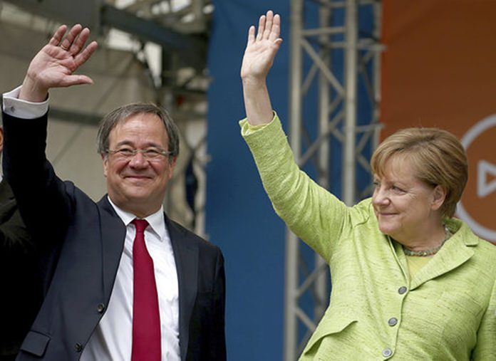 Merkel's Christian Democrats beat rivals in German state election
