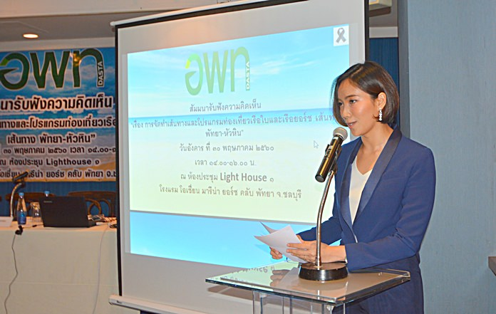 The Royal Thai Navy and Designated Areas for Sustainable Tourism Administration have joined to support a tourism-driving yacht route between Pattaya and Hua Hin.