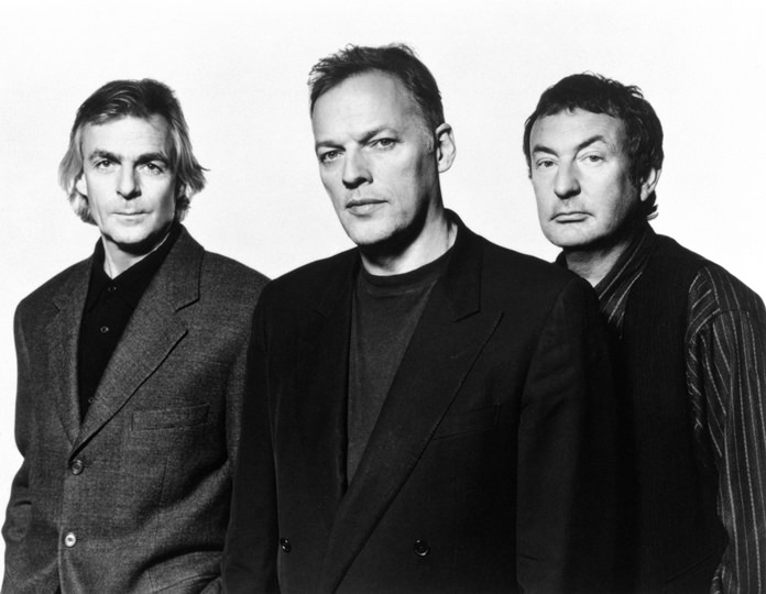 Pink Floyd: (from left) Rick Wright, Dave Gilmour and Nick Mason.
