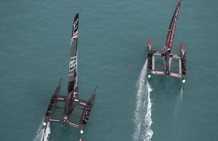 Lack of wind blows hopes of Cup races away