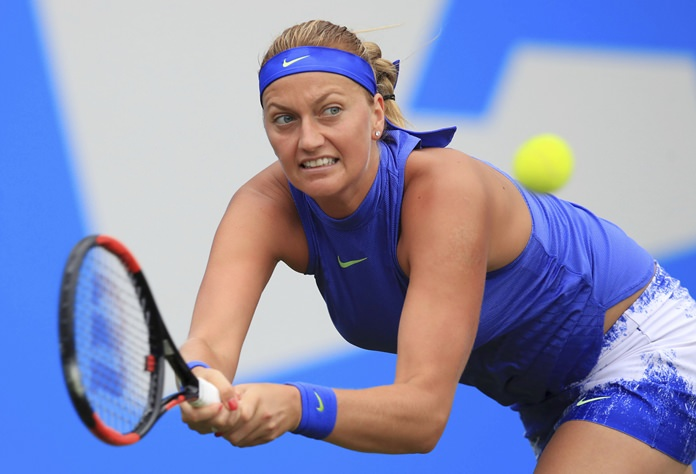 Kvitova reaches 1st final since attack
