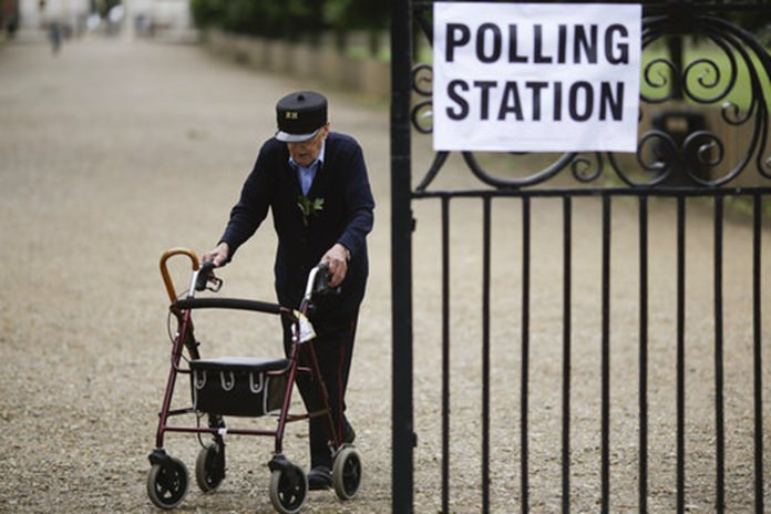 United Kingdom exit poll says Conservatives will be largest party