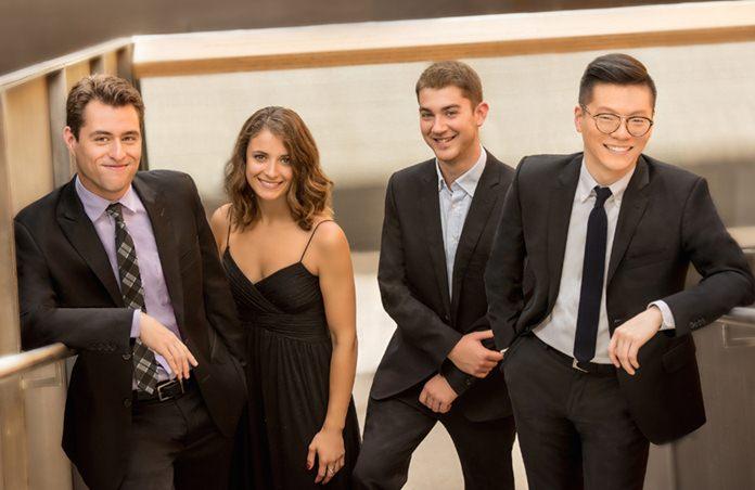The Dover Quartet. (Photo/Carlin Ma)