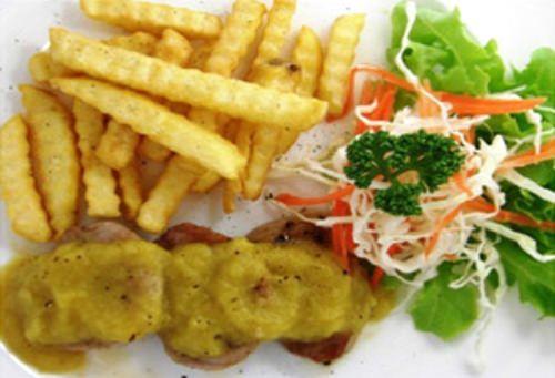 Delicious menu options at Yupin's Restaurant.