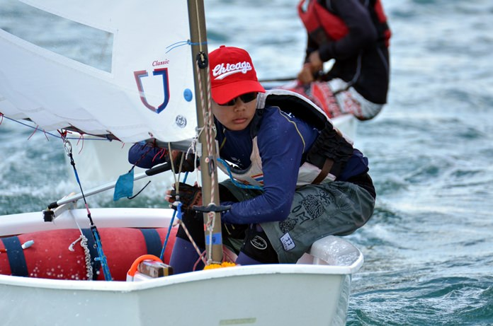 Over 300 young sailors and support staff from 62 nations will be competing in Pattaya from July 11-21.