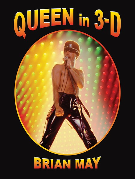 "This image released by Shelter Harbor Press shows ""Queen in 3-D,"" by Brian May. (Shelter Harbor Press via AP)"