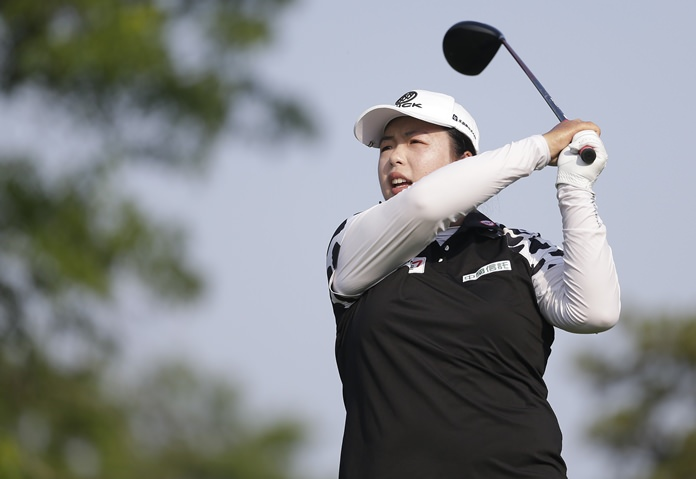 What jet lag? China trip can't stop US Women's Open leader