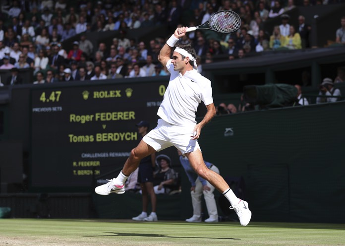 Federer tailored 12 months of practice specifically to Wimbledon