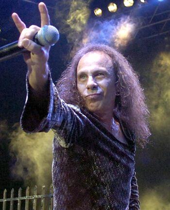 Ronnie James Dio. (AP Photo)