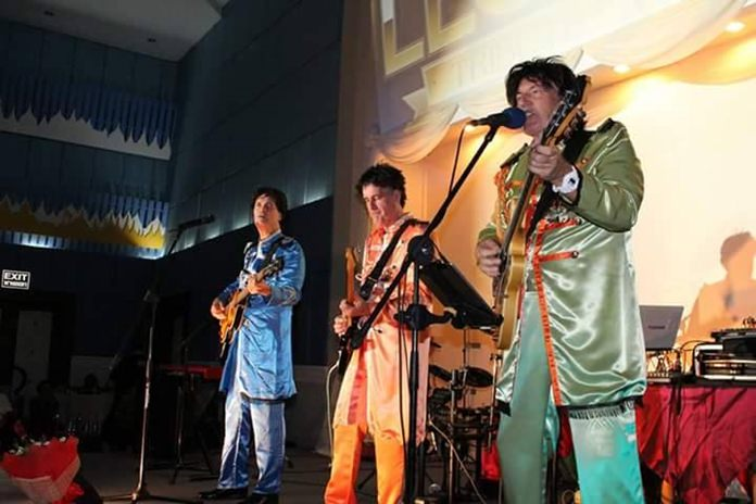 The second set by the Beatles in their Sergeant Peppers outfits.