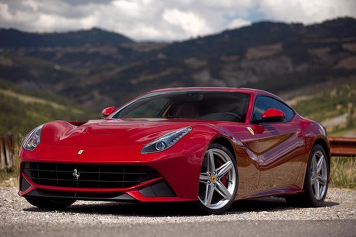 F 12 Ferrari Berlinetta.