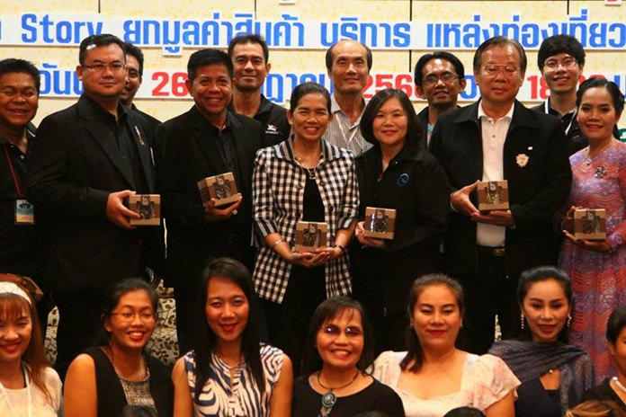 Pathum Thani officials recently touted their province's hospitality services at a tourism-promotion event in Pattaya.