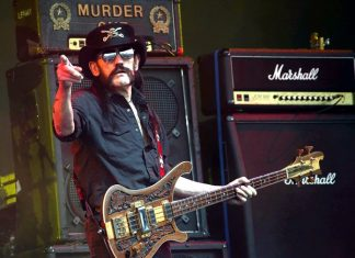 Motorhead frontman Lemmy Kilmister is shown in this June 26, 2015 file photo.. (Photo by Joel Ryan/Invision/AP)