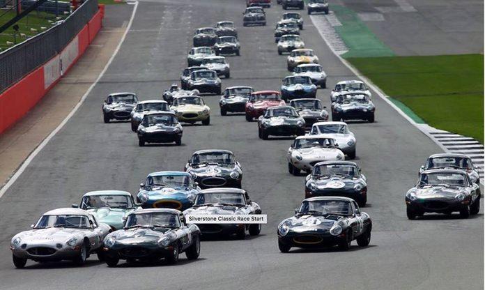 E-Type racing.