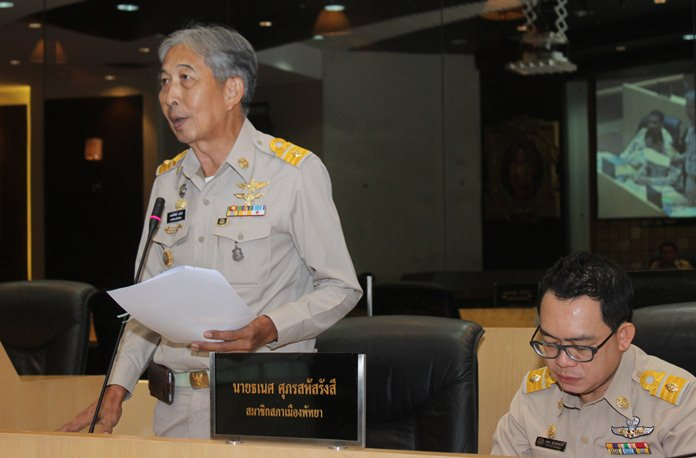 Councilman Saksit Yaemsri said the OAG could consider the CCTV purchases a misappropriation of public funds as safety falls under the jurisdiction of the Royal Thai Police.