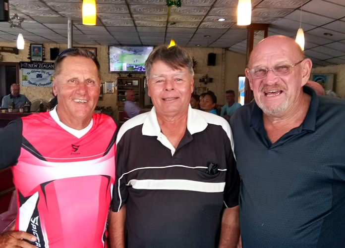 Paul Povloff, Ed Horrocks and Rick Hiate.
