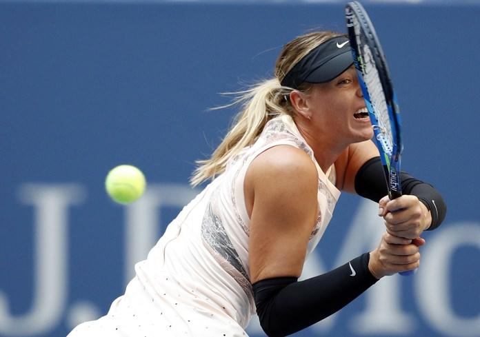 Sharapova beats Halep on return to US Open