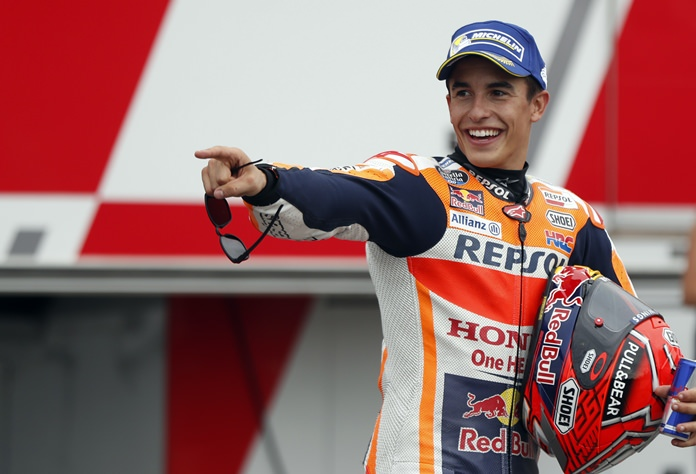 (Motorcycling) Marquez on pole for Czech GP