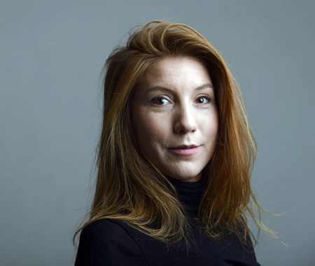 This is a Dec. 28, 2015 file handout photo portrait of the Swedish journalist Kim Wall taken in Trelleborg, Sweeden.(Tom Wall via AP, File)