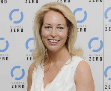 In this June. 21, 2011, file photo, former U.S. CIA Operations Officer, Valerie Plame Wilson arrives for the UK film premiere of Countdown to Zero in London. Wilson launched an online fundraiser on Aug. 18, 2017, looking to raise enough money to buy Twitter so President Donald Trump can't use it. (AP Photo/Jonathan Short, File)