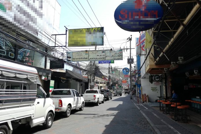 Eight months after being cited for improper wastewater management, 101 Walking Street businesses were told they will have to foot part of the bill to install a new sewage system under the nightlife strip.