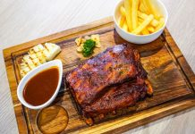 The baby back ribs.
