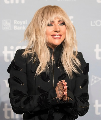 "Lady Gaga appears during a press conference for ""Gaga: Five Foot Two"" at the Toronto International Film Festival, in Toronto on Friday, Sept. 8. (Chris Young/The Canadian Press via AP)"