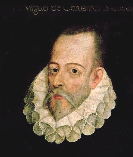 Miguel de Cervantes (or possibly not).