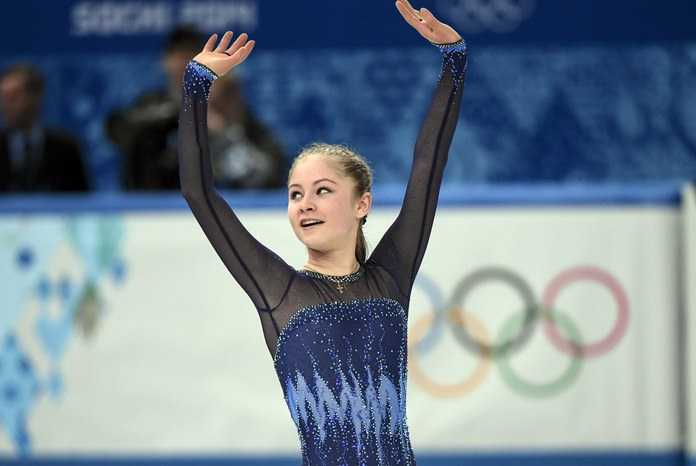 Russia's Yulia Lipnitskaya is shown in this Feb. 8, 2014, file photo. (AP Photo/The Canadian Press, Paul Chiasson)