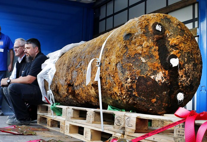 WWII bomb causes two cities to be evacuated