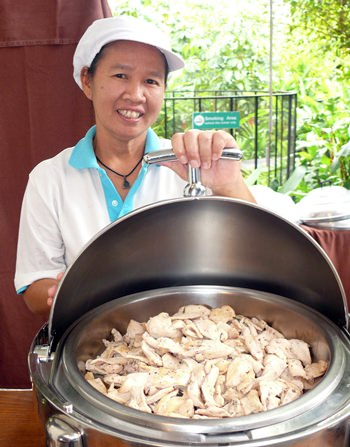 Anyone for steamed chicken?