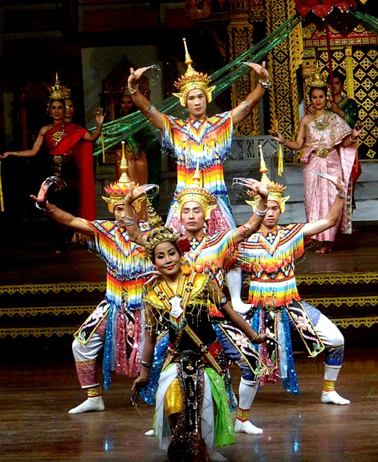 Traditional Thai dance and masked dance theatre will feature at the Royal Cremation Ceremony of His Majesty the late King Bhumibol Adulyadej. (Photo/Wikipedia commons)