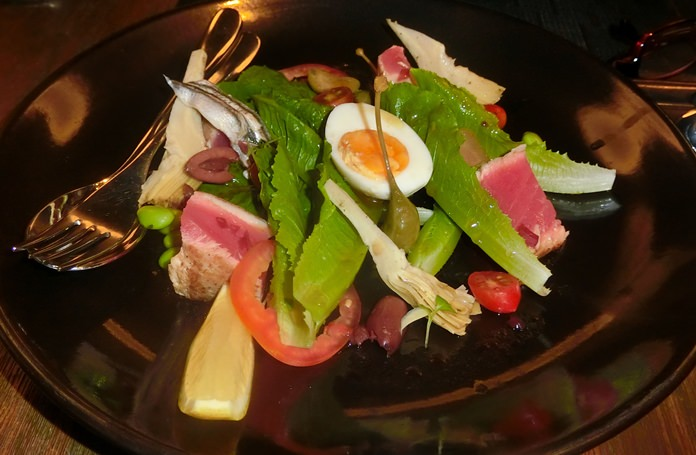 The excellent Salad Nicoise.