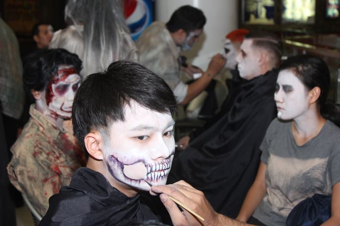 The biggest night of the year for Pattaya's Ripley's Believe it or Not! – Halloween – was the place to be for the scariest makeup and costumes.