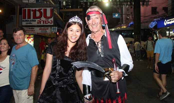 Pirates to princesses, you see them all here in Pattaya.