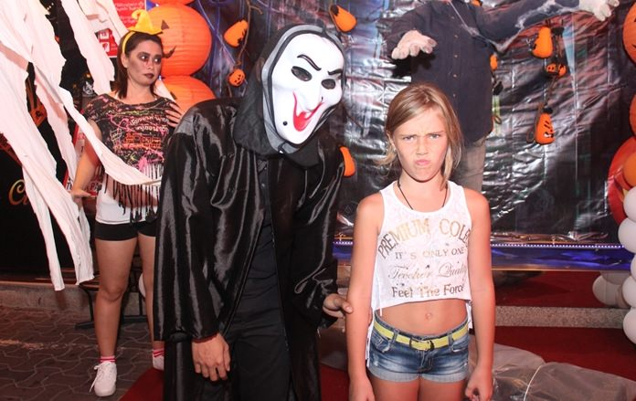 Scream also showed up for Halloween in Pattaya.