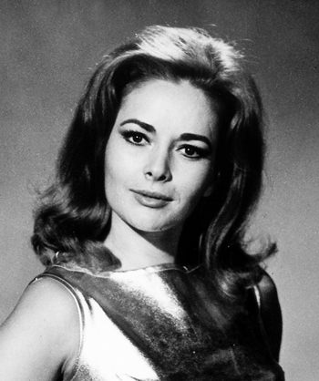 German actress Karin Dor is shown in this April 1967 file photo. (dpa via AP)