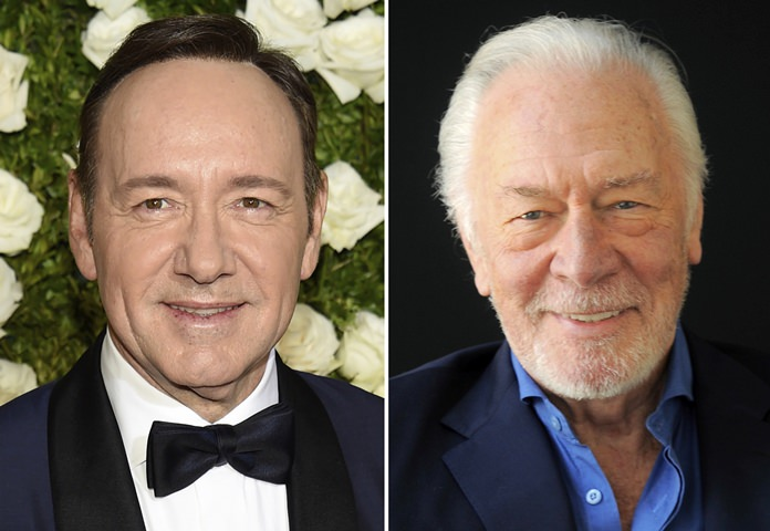 Plummer calls replacement of Spacey 'ironic'